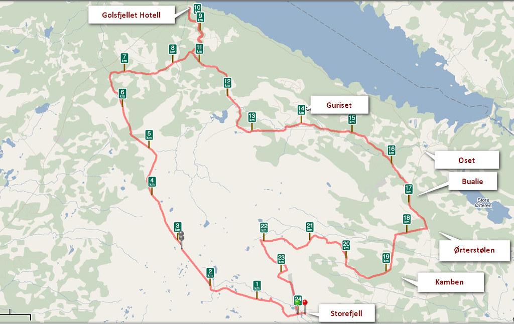 Kart Golsfjellet Kjell Arne Berntsen Flickr
