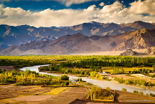 Green Valley in The Evening Light ~ Ladakh, India | by Martin Sojka .. www.VisualEscap.es