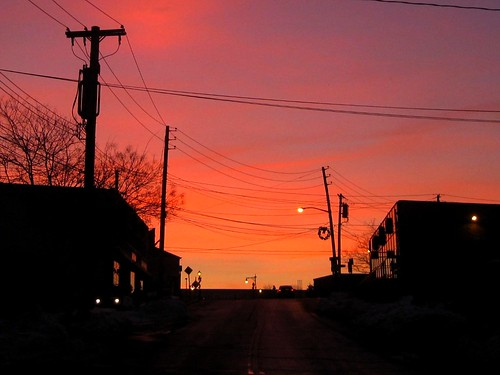 street morning light sky silhouette sunrise dawn eastchester westchester fotocompetitionbronze canong10 latestupload