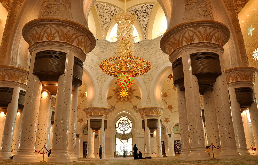 Interior Design Of Sheikh Zayed Mosque The Design Of The S Flickr