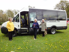 First outing on the new community bus