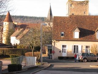 Saint Sernin du Bois: Le Bourg