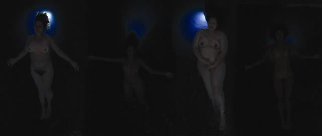 "Video stills from ""Ngā Hau E Whā - The Four Winds"" by Leilani Kake, Fresh Gallery Otara (4 March - 16 April 2011)"