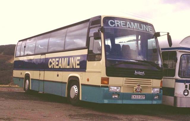C433 GEP Leyland Royal Tiger Doyen Creamline.