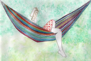 reading in a hammock is... | inspired by www.flickr.com/phot… | Flickr