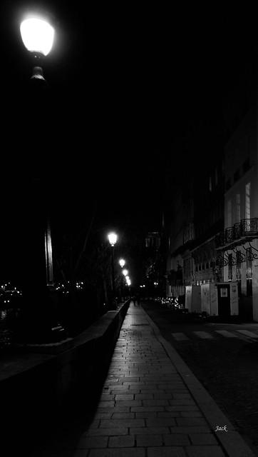 Balade nocturne parisienne