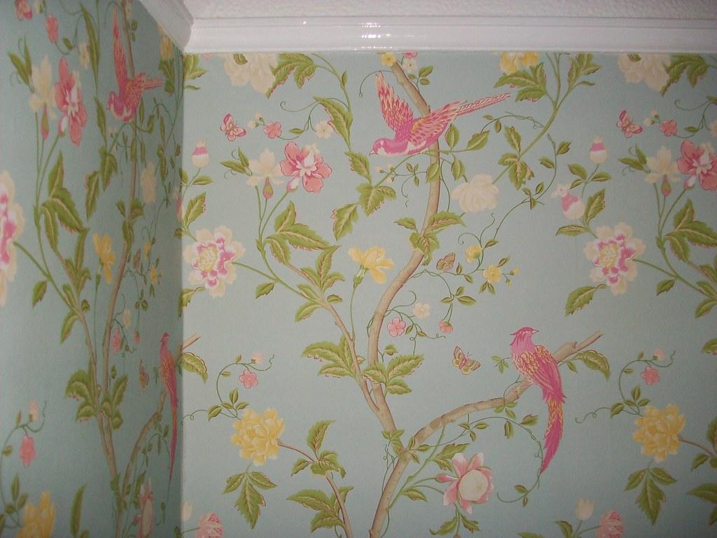 Laura Ashley Bird Of Paradise Wallpaper Paula Manning Flickr