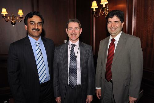 Zubair Idrees,  Frank Kinsella and Iftikhar Ali
