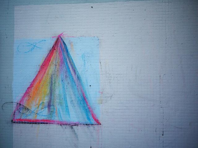 Crayon graffiti