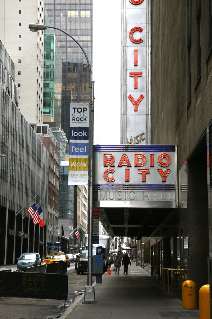 New York City, Manhattan, Midtown West, Radio City Music H