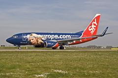 Sky Europe Airlines Boeing 737-76N OM-NGA