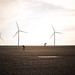 Ty, Eric, and the wind farm by Rich Bachman