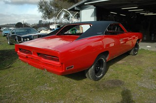 outside with trim - passenger rear quarter | by Tolley's Charger