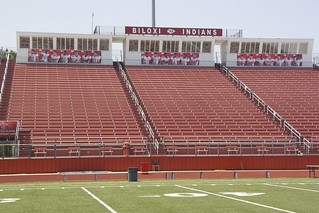 Stadium Wrap Project At Biloxi High School Biloxi Ms Flickr