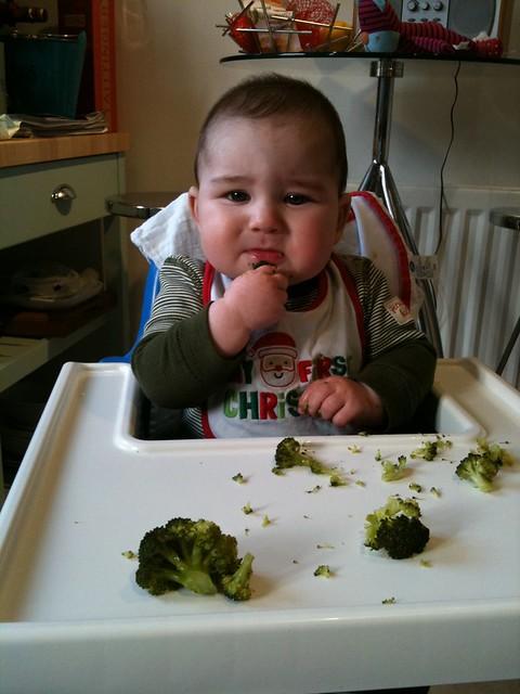 Not sure if I like broccoli!