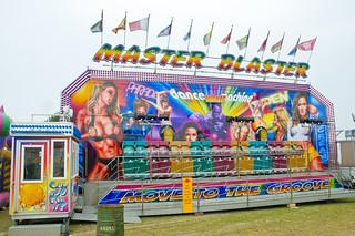 Master Blaster Fairground Ride at Great Dorset Steam Fair 2010