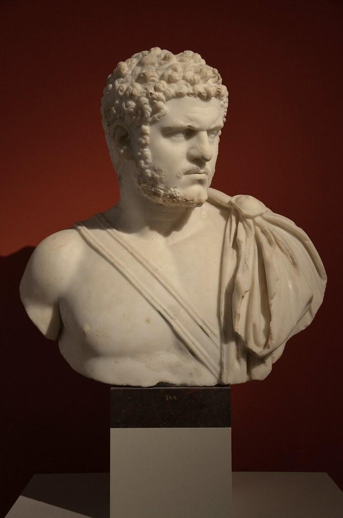 Emperor Caracalla Altes Museum Berlin 1875 From Rome