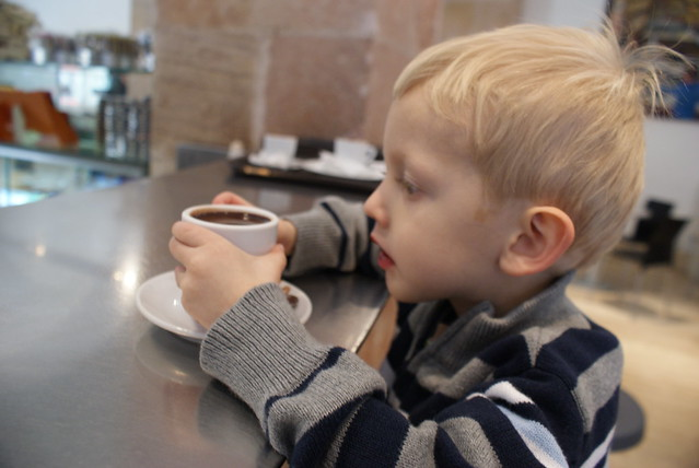 Hot Chocolate at the Chocolate Museum
