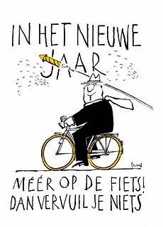 Cartoon Len Munnik - Nieuw jaar | by fietsersbond