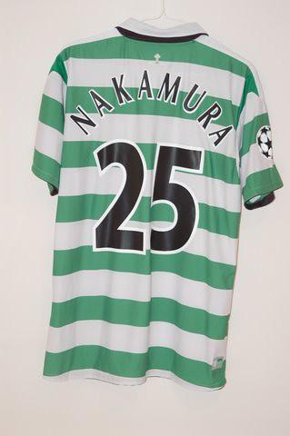 ca0c814cf78 ... 2005 2006 Celtic Shunsuke Nakamura Home Jersey