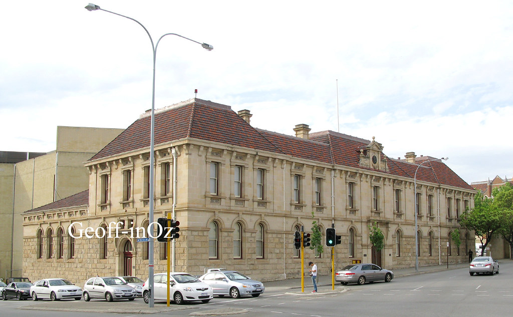 Police Courts (fmr), Cnr Beaufort and Roe Streets, Perth