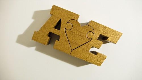 A♥E (flat)   by nuzzlesbyjohn