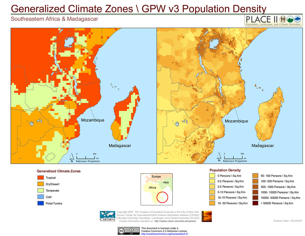Climate Zone Map Of Asia.Southeastern Africa Madagascar Detailed Climate Zones G Flickr