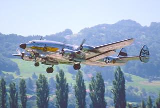35ak - The Constellation Group Lockheed L-749 Constellation; N494TW@ACH;08.08.1998