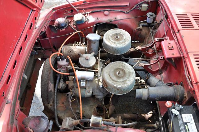 Toyota Sports 800 motor