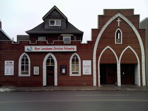 Bloor Lansdowne Christian Fellowship Church Front