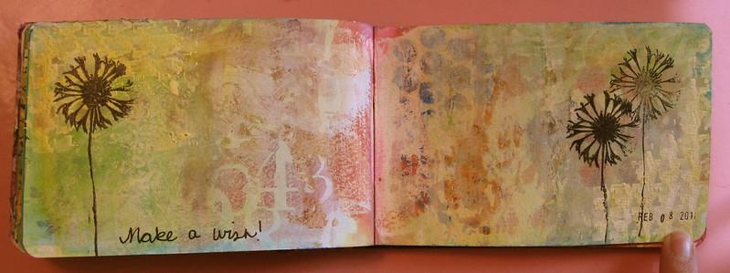 In My Art Journal - February 2011