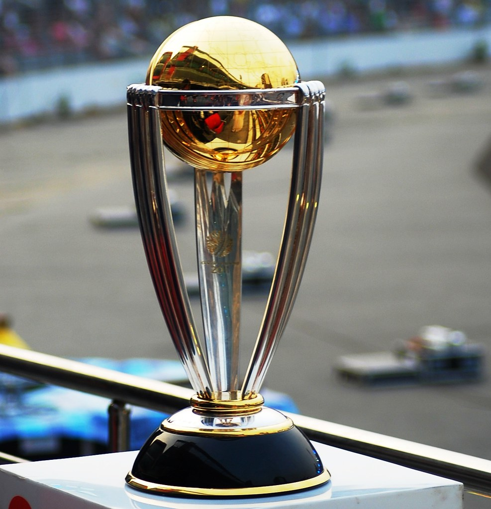 Icc cricket world cup trophy pic