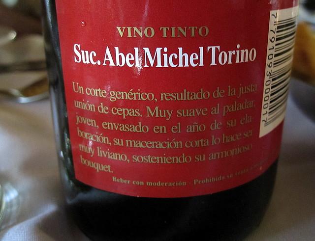 Suc. Abel Michel Torino Wine