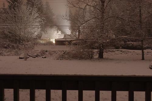 snow night washington glow kalama kalamawashington