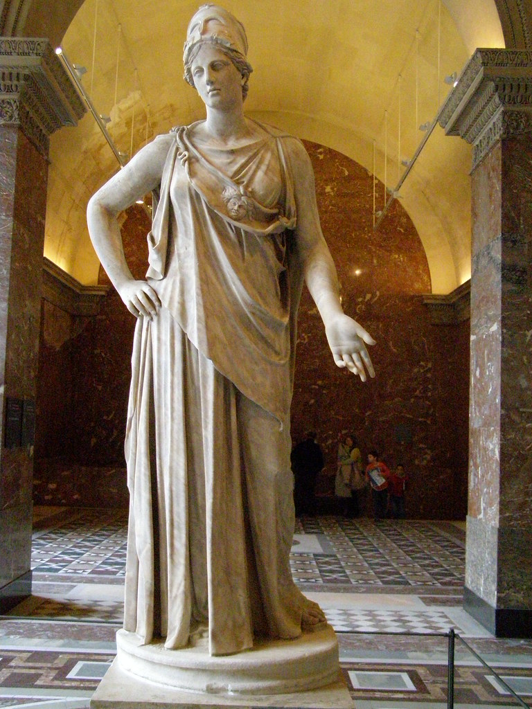 """Athena, called the """"Peaceable"""" or the """"Mattei Athena""""   Flickr"""