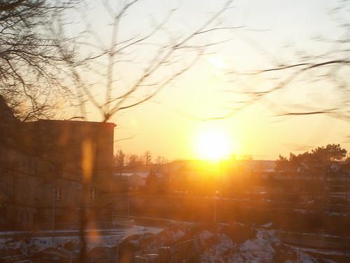Der Sonnenuntergang badet im golden strömenden Licht so beseelte nicht nur zu dieser zu ersprießlicher Saat in unbekanntem Boden mit zuweilen notdürftiger Andeutung des Tageslichts 026