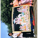 Ashok Shah and Aarti Shah With Artificially Studed king kite