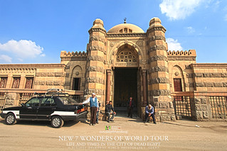 EGYPT LIFE AND TIMES IN THE CITY OF DEAD MOUSTAFA IN BLACK SHIRT SITTING THE BEST GENUINE GUIDE IN CAIRO IMG_6174 AWFJ | by SDB Fine Art Travel of 2 Decades to 555+ Places Ph