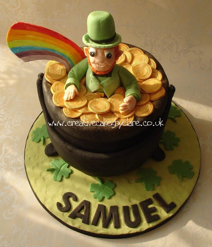 Outstanding St Patricks Day Birthday Cake Follow Me On Facebook F Flickr Funny Birthday Cards Online Necthendildamsfinfo
