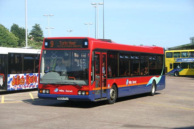 3604 W604PLJ Wilts & Dorset