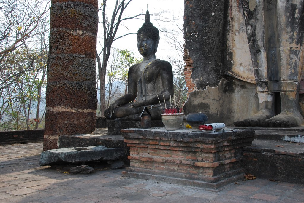 0157-Visite de Sukhothai - Wat Saphan Hin | Claude37 | Flickr
