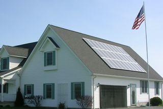 Darien Center, NY residential solar installation | by Solar Liberty