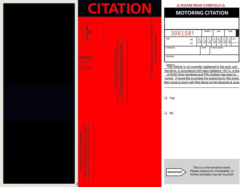 It is a picture of Printable Fake Parking Tickets pertaining to private parking