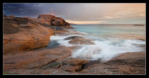ocean longexposure sunset seascape landscape esperance