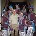 Ranya and dancers with Mahmoud Reda