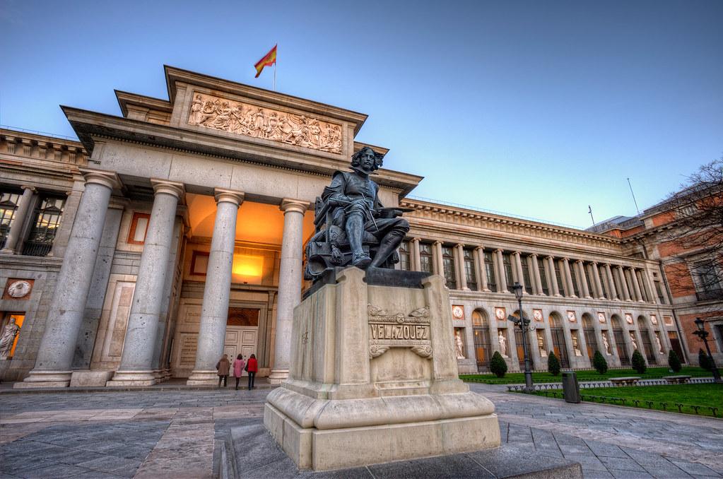 Museum – Museo del Prado, Madrid (Spain), HDR