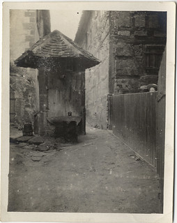 Photographs From a Haas Family Vacation to Bavaria, Germany: Reckendorf, The Well (circa 1911)