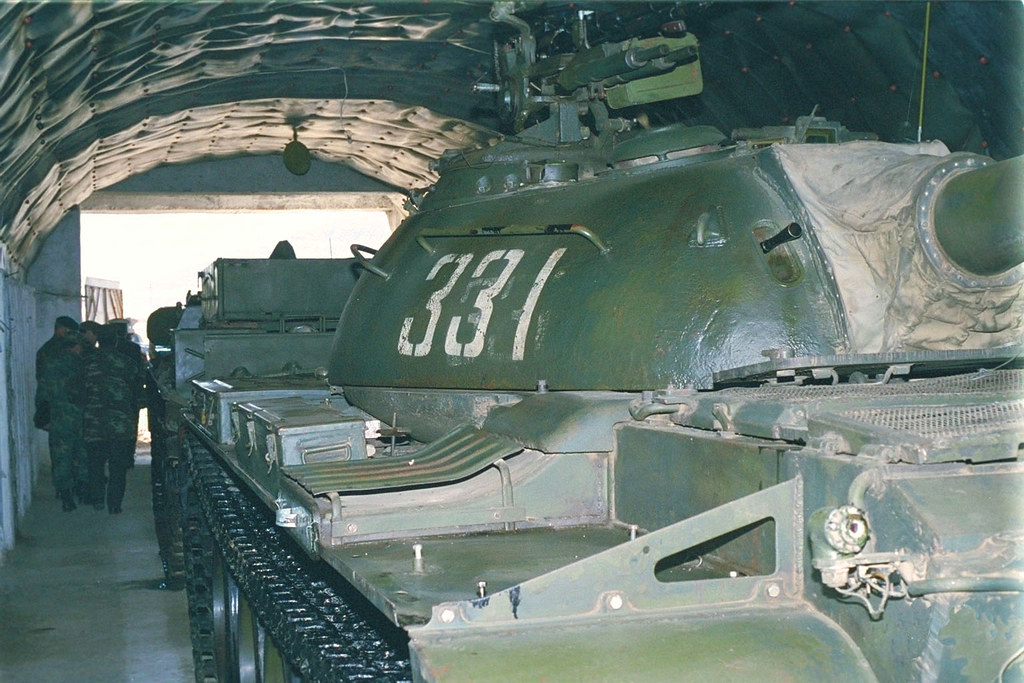 T-54 Albania March 2003 | T-54 in one of the famous tunnel s… | Flickr