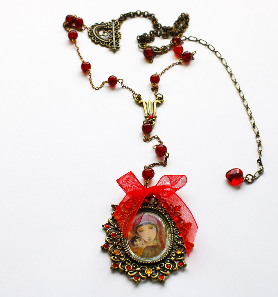 byzantine jewelry necklace | Sold! Thanks | Flor Larios | Flickr
