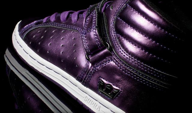 Wifie's Sick Purple Supras